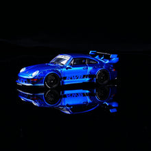 Load image into Gallery viewer, Preorder ~ CM Model 1:64 Diecast RWB Licensed RWB 993 Metallic Blue ETA : Feb 2021