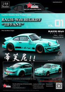 Preorder -  FuelMe 1/64 Resin Model RWB 964 Tiffany Limited 499 Pcs Only Release Date : Apr 2021