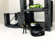 Load image into Gallery viewer, Plastic Model Kit 1/64 Parking Lot Pre-Release Version ( Car and figure not included !!! )