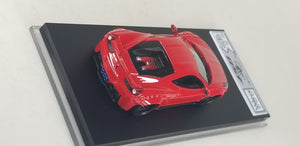 1:64 Veloce Hand Built Resin Model Ferrari 458  Liberty walk red rear wing . 1 of 20pcs