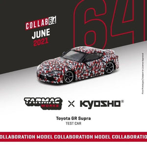 Preorder - Tarmac Works 1/64 Toyota GR Supra TEST CAR *** Collaboration with Kyosho ***- Release Date : Jun 2021