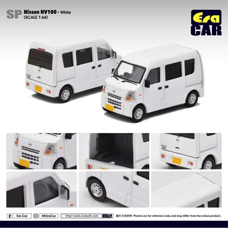 Preorder - ERA Car SP30 Nissan NV100 - White- Release Date :TBA