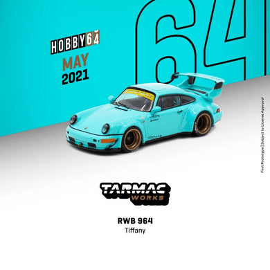 Preorder - Tarmac Works RWB 964 Tiffany - Release Date : May 2021