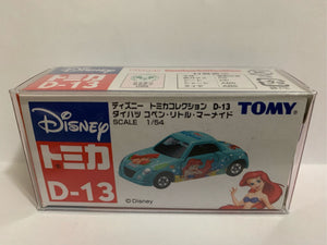 Takara Tomy Tomica Disney D-13 The Little Mermaid Daihatsu Copen (#Y)