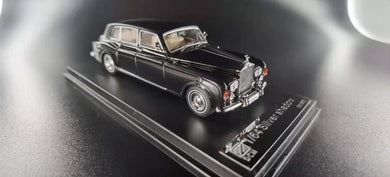 Preorder - DCM 1:64 Diecast Phantom VI 6 Silver Shadow Classic Black Limited 999 Pcs - Release Date : Jun 2021