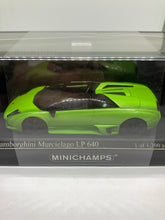 Load image into Gallery viewer, Minichamps 1:43 Lamborghini Murcielago LP640 (2007) (Green) (Limited to 1,200 pcs) #KY