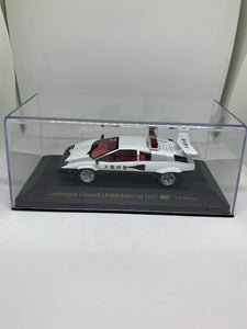 Zi:l 1:43 Lamborghini Countach LP500S Patrol Car Type (環狀大阪府警) (Limited to 999pcs) #KY