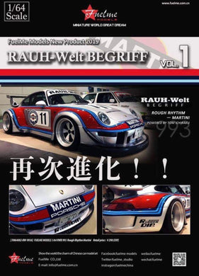 Preorder ~ Fuelme Models 64 Rauh-Welt Begriff Vol.1 Rough Rhythm (Martini) Resin Made Model ETA : January 2020