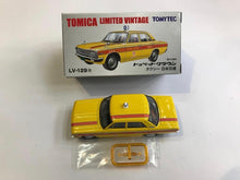 Load image into Gallery viewer, Tomytec Tomica Limited Vintage LV-129a Toyopet Crown Taxi (Yellow)