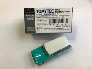 Tomytec Tomica Limited Vintage LV-90b Toyopet Masterline (Tiffany Blue and White)