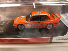 Load image into Gallery viewer, Tarmac Works 1/64 BMW M3 E30 - DTM 1992 - Armin Hahne N.O 18 AT SHOP
