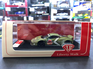 LB Liberty Walk Timothy & Pierre 1/64 Ferrari 458 Zero Fighter Resin Taiwan Exclusive 149/999 pcs Limited Edition