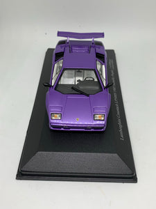 Zi:l 1:43 Lamborghini Countach LP500S (1985) (Metallic Purple) (Limited to 999pcs) #KY