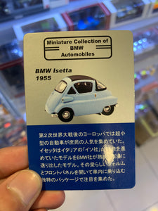 Kyosho Miniature Collection of BMW Automobiles BMW Isetta 250- Orange