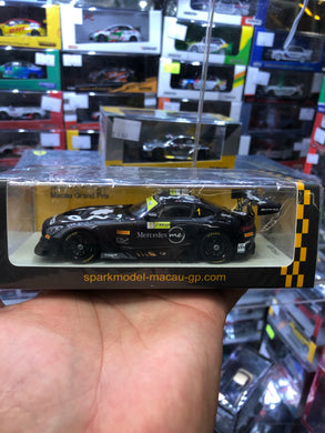 Spark 1/43  #1 Mercedes AMG GT3 - Mercedes-AMG Team GruppeM Racing 3rd FIA GT World Cup Macau 2018 ( Free Shipping Worldwide )