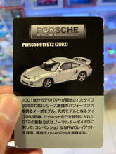 Load image into Gallery viewer, Kyosho Porsche Mini Car Collection II Porsche 911 GT2- Black