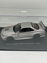 Load image into Gallery viewer, Autoart 1:43 Nismo Skyline GT-R Z-Tune (2001) (Silver) #KY