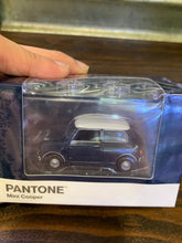 Load image into Gallery viewer, Tiny City Diecast - Set of 6 Mini Cooper X Pantone Set (Blue) ~ Free Shipping Worldwide !!!
