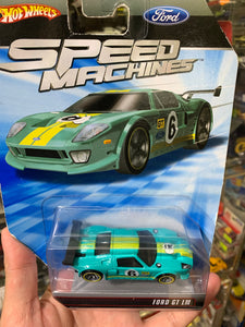 Hot Wheels 1/64 Speed Machines FORD GT LM