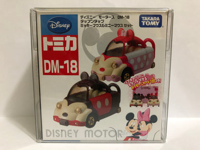 Takara Tomy Tomica Disney Motors DM-18 Tap Twin Mickey Minnie (#Y)