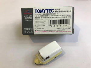 Tomytec Tomica Limited Vintage LV-60a Mitsubishi Pet Leo Van (Yellow and White)