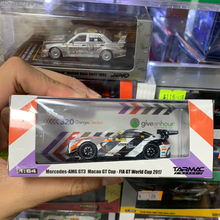 Load image into Gallery viewer, Tarmac Works 1:64 Mercedes-AMG GT3 Macau GT Cup - FIA GT World Cup 2017 (Mark Engel)