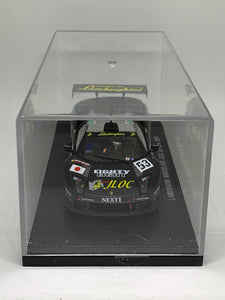 Ebbro Racing Car Collection 1:43 Lamborghini Murcielago JLOC Le Mans (2007) (Black) #KY