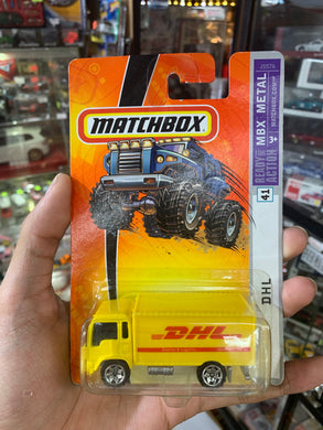 Matchbox Ready for Action MBX Metal DHL Delivery Truck