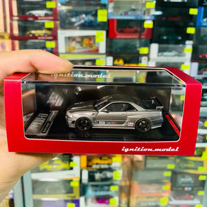 Ignition Model 1:64 Scale Nismo Omori Factory CRS Nissan Skyline R34 ig1880