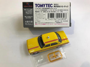Tomytec Tomica Limited Vintage LV-129a Toyopet Crown Taxi (Yellow)
