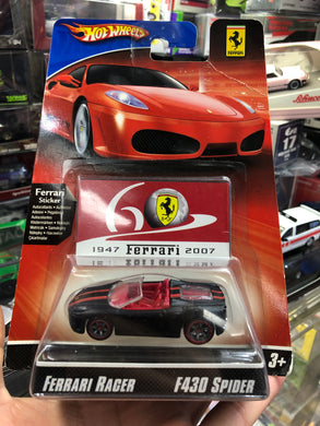 Hot wheels Ferrari Racer F430 SPIDER