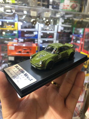 ( Camo Green ) Model Collect 1/60 Diecast RAUH-WELT BEGRIFF 930 Ducktail Wing