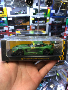 Spark 1/43  #2 Mercedes AMG GT3 - Mercedes-AMG Driving Academy 6th Macau GT WORLD Cup 2016 ( Free Shipping Worldwide )