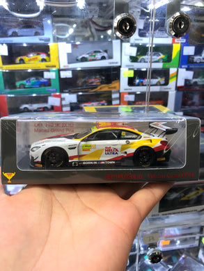 Spark 1/43 BMW M6 GT3 BMW Team Schnitzer Winner FIA GT World Cup Macau 2018 ( Free Shipping Worldwide )