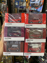 Load image into Gallery viewer, Tiny City Diecast - Set of 6 Mini Cooper X Pantone Set (Red) ~ Free Shipping Worldwide !!!