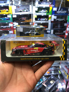 Spark 1/43  #888 Mercedes AMG GT3 - Mercedes-AMG Team GruppeM Racing 2nd FIA GT World Cup Macau 2018 ( Free Shipping Worldwide )