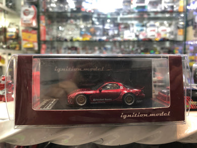 Ignition Model 1/64 Rocket Bunny RX-7 (FD3S) Red Metallic 1407 Tarmac ig AT