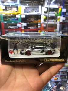 Timothy & Pierre 1/64 Stance Garage Special Edition LB PERFORMANCE LB-WORKS  550/599 pcs Limited Edition