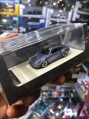 Timothy & Pierre 1/64 Porsche 911 Singer with Luggage Carrier
