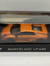 Load image into Gallery viewer, Hotwheels Elite 1:43 Lamborghini Murcielago LP640 (Limited Edition) (Orange) #KY