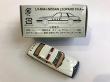 Load image into Gallery viewer, Tomytec Tomica Limited Vintage Neo LV-N04a Nissan Leopard TR-X Police (京都府警)