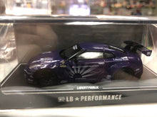 Load image into Gallery viewer, 1:64 LB performance  skyline GTR 35 Liberty Walk Purple AT SHOP