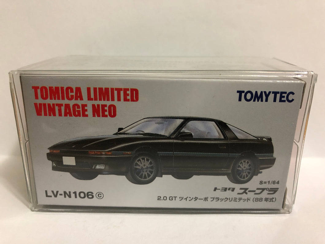 Takara Tomy Tomica Limited Vintage Neo Tomytec LV-N106c Toyota Supra 2.0 GT Twin Turbo (#Y)