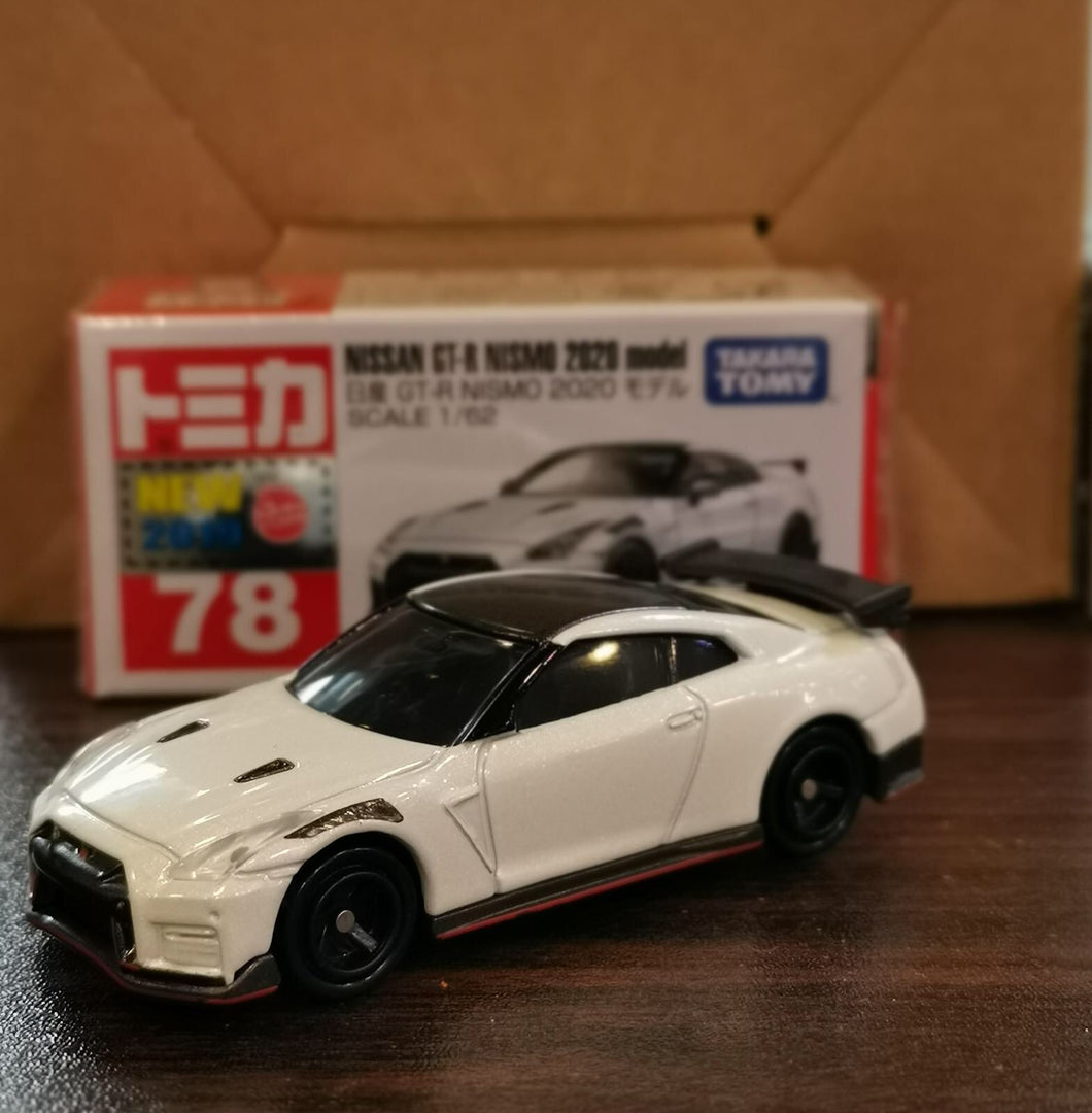 Tomica 2019 JUL No.78 Nissan GTR Nismo 2020 Model #S100