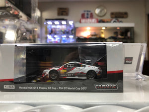 Tarmac Works 1:64 Honda NSX NC1 GT3 Macau GT AT SHOP