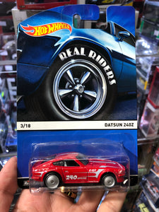 Hot Wheels 1/64 DATSUN 240Z Real Riders