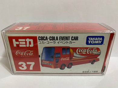 Takara Tomy Tomica 37 Coca Cola Event Car (Made In China)