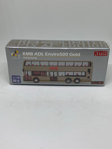 Tiny KMB ADL Enviro500 Gold (Hong Kong Tsim Sha Tsui Limited Edition) #KY
