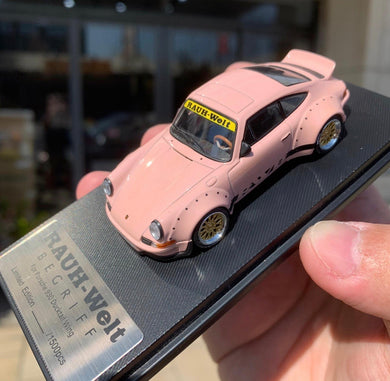 Preorder ~ Model Collect 1/60 RWB Licensed Product Porsche 930 Ducktail Wing Pink (Taiwan Exclusive) ETA : April 2020