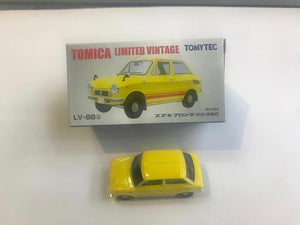 Tomytec Tomica Limited Vintage LV-88b Suzuki Fronte SS 360 (Yellow)